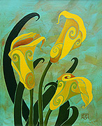 Sophisicated Calla Lilies