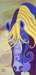 Gazing Mare Painting