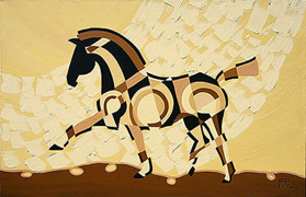 The Tao of Passage Contemporary Horse Painting
