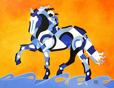 THe Power of Equus, Contemporary Equine Art Painting