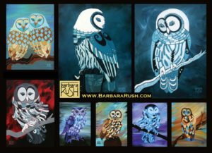 Contemporary Owl Art