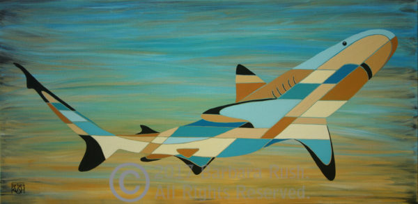 Black Tipped Shark Contemporary art