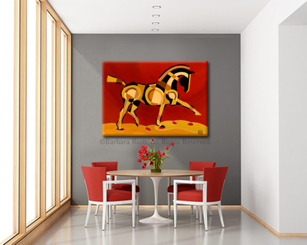 The Extension of Equus Painting