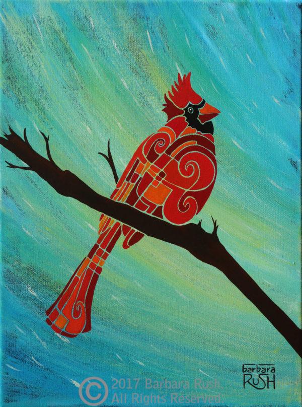 Contemporary Cardinal Art
