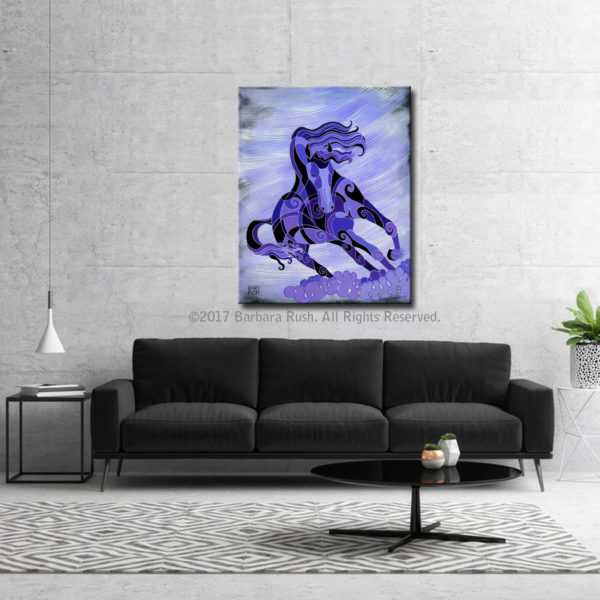 Purple Horse Art