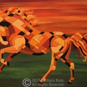 Contemporary Horse Painting