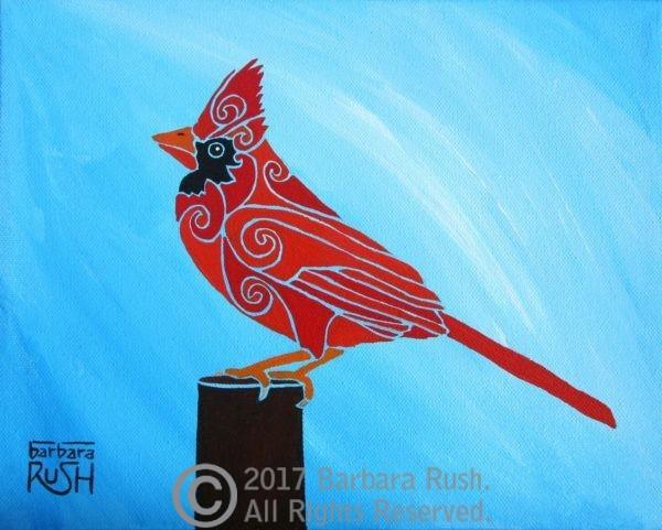 Contemporary Bird Art