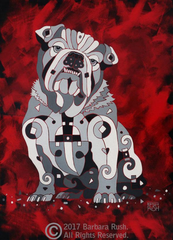 Bull Dog Art