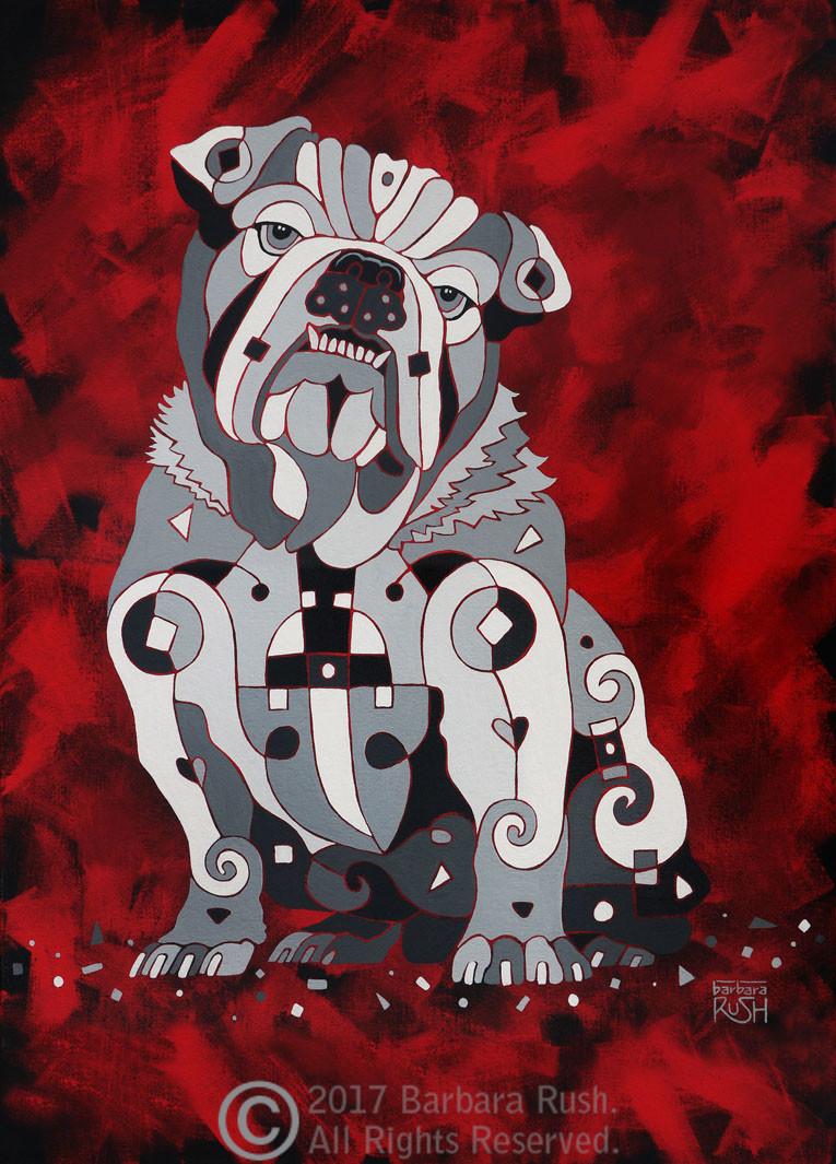 That's No Bull Dog! – Canvas Print