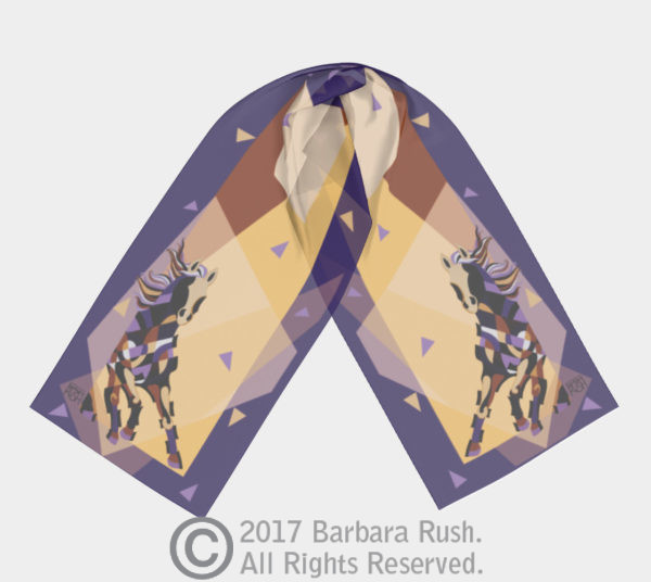 Spirit of Equus Scarf