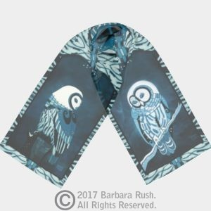 Beautiful Owl Scarf