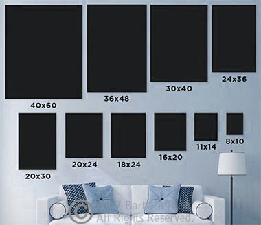 Print Sizes Above Couch