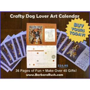 My Crafty Dog Calendar