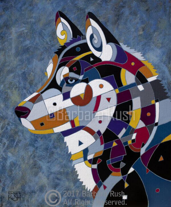 Siberian Husky Art
